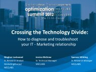 Bonus Session: Crossing the Technology Divide: How to ... - meclabs