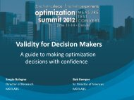 Validity for Decision Makers - meclabs