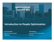 Marketer Optimization - meclabs