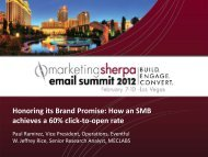 Honoring its Brand Promise: How an SMB achieves a 60 ... - meclabs