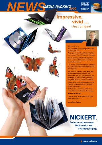 Exclusive & stylish commercial presentations ... - Nickert