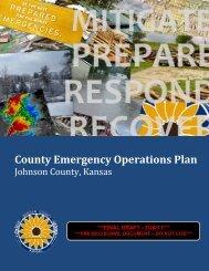 Johnson County Emergency Operations Plan - jocoem