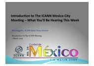 Introducüon to The ICANN Mexico City Meeüng – What You'll Be ...