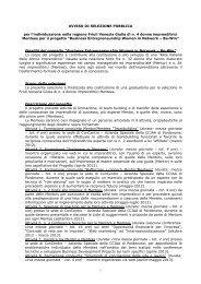 Modello Avviso di selezione pubblica Mentees - CCIAA di ...