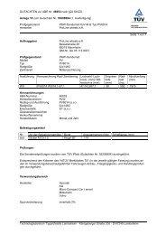GUTACHTEN zur ABE Nr. 46053 nach §22 StVZO Anlage 10 zum ...