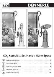 CO Komplett-Set Nano / Nano Space - Dennerle