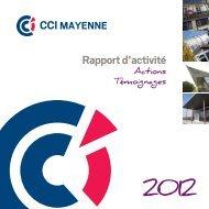 rapport d'activité - (CCI) de la Mayenne