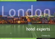 London Hotel Experts - Christie + Co