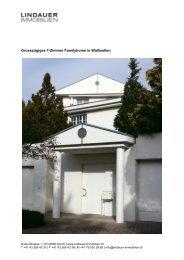 Grosszügiges 7-Zimmer Familyhome in Wallisellen - Lindauer ...