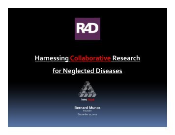 Harnessing Collaborative Research for Neglected Diseases