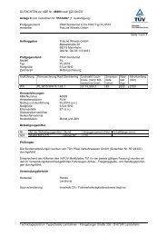 GUTACHTEN zur ABE Nr. 46993 nach §22 StVZO Anlage 9 zum ...