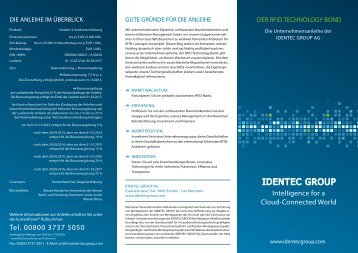 Flyer - identec group
