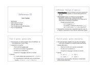 3.2 - Inferenza II - Test di ipotesi