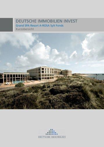 Kurzübersicht A-Rosa Sylt FÜR PDF.indd - Deutsche Immobilien ...