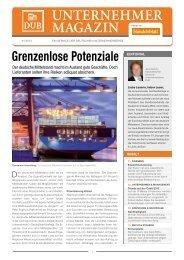unternehmer magazin - Deutsche Unternehmerbörse dub.de GmbH