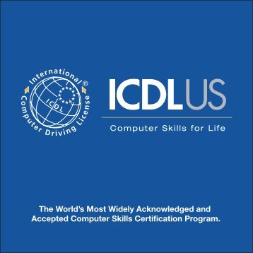 Intl Computer Drivers License Brochure