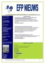 1 Expertisecentrum Forensische Psychiatrie Mei 2007, nr. 9 ... - EFP