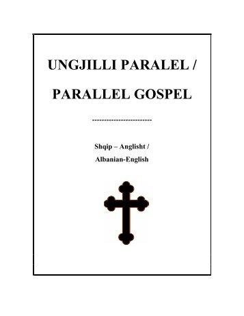 Katër Ungjijtë paralel: shqip-anglisht Diodati i Ri