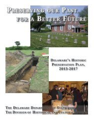 Preserving our Past for a Better future - Division of Historical and ...