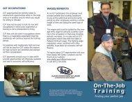 On-The-Job Training - Alaska Job Center Network