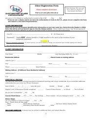 ES Registration Form - Alaska Job Center Network