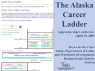 The Alaska Career Ladder