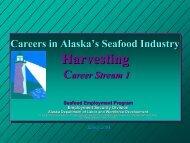 Harvesting (Career Stream 1) - Alaska Job Center Network