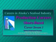 Career Stream 3 - Alaska Job Center Network