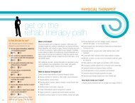 get on the rehab therapy path - Alaska Job Center Network