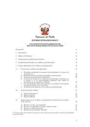 Los Conflictos Socioambientales por Actividades Extractivas en el ...