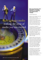 Back-to-basics media: making the most of media you ... - Active for Life