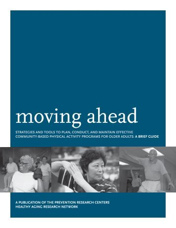 Moving Ahead, Strategies and Tools To Plan ... - CDC HAN Home