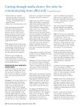 Cutting through media clutter: five rules for ... - Active for Life - Page 3