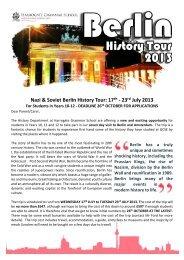 Year 10-12 Berlin History Tour Information (pdf - Harrogate ...