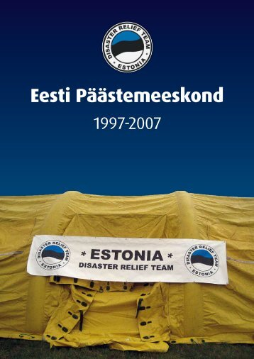 Eesti Päästemeeskond 1997-2007 - Päästeamet