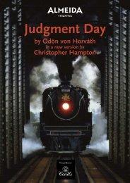 Judgment Day - Almeida Theatre