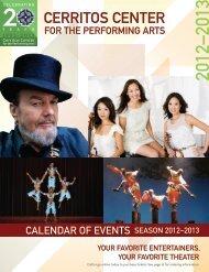 2012–2013 - Cerritos Center for the Performing Arts
