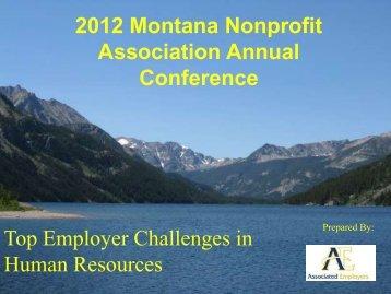 Human Resources - Montana Nonprofit Association