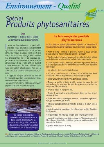 Spécial produits phytosanitaires - Cerafel