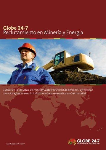 Globe 24-7 Reclutamiento en Minería y Energía