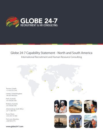 Globe 24-7 Capability Statement - North and South America