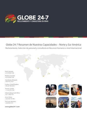 Globe 24-7 Resumen de Nuestras Capacidades – Norte y Sur ...