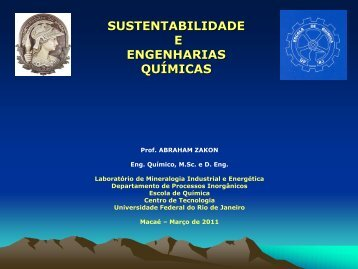 2011 AZ IFF-MACAÉ - Sustentabilidade e Engenharias ... - UFRJ