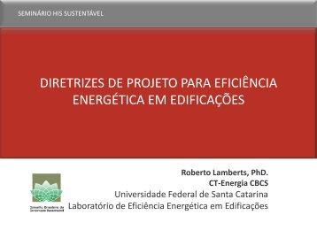 Prof. Roberto Lamberts - CBCS