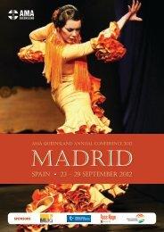 SPAIN • 23 – 29 SEPTEMBER 2012 - AMA Queensland