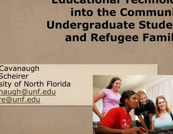 Undergraduate Teacher-Education Students and Refugee Families