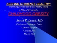 Overview of Childhood Obesity by Susan Lynch, MD - The Hood ...
