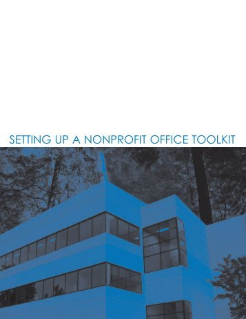 Setting up a Nonprofit Office Toolkit - Heather Carpenter