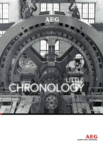 A little chronology - AEG Industrial Engineering