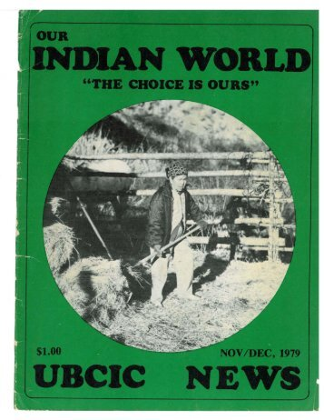 indian world ubcic news - Indian Child Caravan Digital Collection